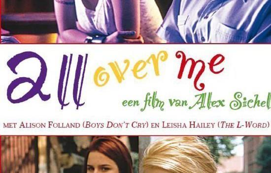 """Affiche du film """"All Over Me"""""""