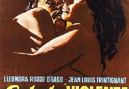 """Affiche du film """"Eté violent"""""""