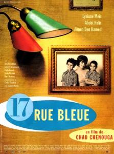 "Affiche du film ""17 Rue Bleue"""