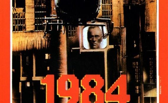"Affiche du film ""1984"""