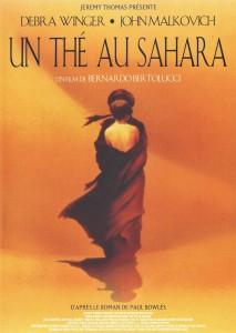 """Affiche du film """"Un thé au Sahara"""""""