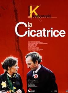 """Affiche du film """"La cicatrice"""""""