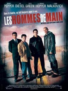 """Affiche du film """"Les Hommes de main"""""""