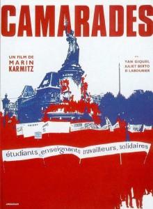 "Affiche du film ""Camarades"""