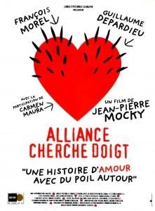 "Affiche du film ""Alliance Cherche Doigt"""