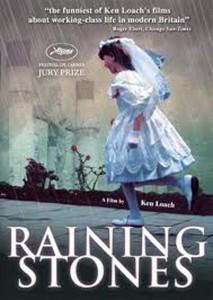 """Affiche du film """"Raining Stones"""""""