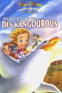 """Affiche du film """"Bernard et Bianca au pays des kangourous"""""""