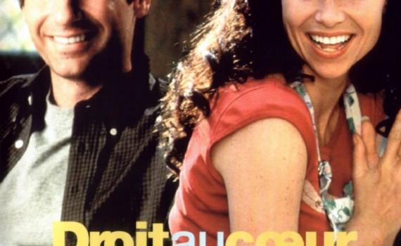 """Affiche du film """"Droit au coeur"""""""