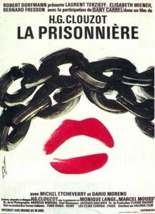 """Affiche du film """"La prisonnière"""""""