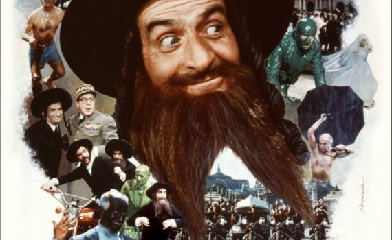 """Affiche du film """"Les aventures de Rabbi Jacob"""""""