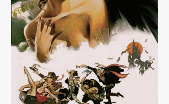 "Affiche du film ""Le Bal des Vampires"""