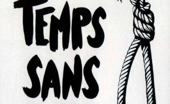 """Affiche du film """"Temps sans pitié"""""""