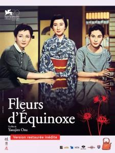 """Affiche du film """"Fleurs d'équinoxe"""""""