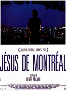 """Affiche du film """"Jésus de Montréal"""""""