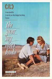 """Affiche du film """"The Year My Voice Broke"""""""