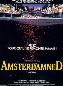 """Affiche du film """"Amsterdamned"""""""