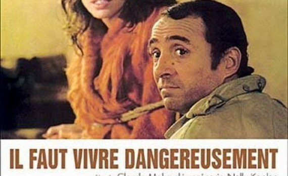"""Affiche du film """"Il faut vivre dangereusement"""""""