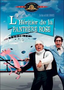 """Affiche du film """"L'héritier de la Panthère rose"""""""