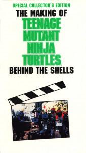 "Affiche du film ""Teenage Mutant Ninja Turtles: Behind The Shells"""