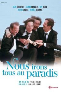 """Affiche du film """"Nous irons tous au paradis"""""""