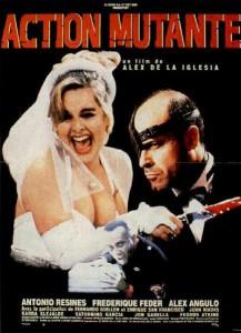 """Affiche du film """"Action mutante"""""""