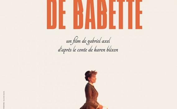 """Affiche du film """"Le Festin de Babette"""""""