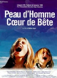"""Affiche du film """"Peau d'homme coeur de bête"""""""