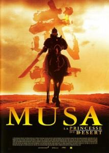 """Affiche du film """"Musa, la princesse du désert"""""""