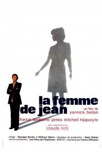 """Affiche du film """"La femme de Jean"""""""