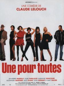 """Affiche du film """"Une pour toutes"""""""