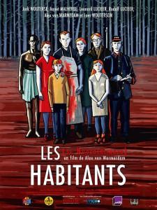 """Affiche du film """"Les Habitants"""""""