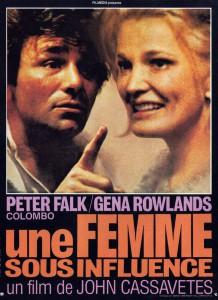 """Affiche du film """"Une femme sous influence"""""""