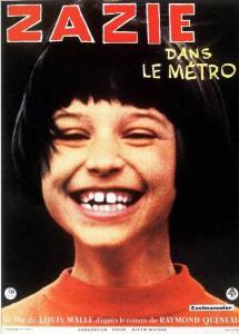 """Affiche du film """"Zazie dans le métro"""""""