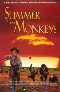 "Affiche du film ""Summer of the Monkeys"""