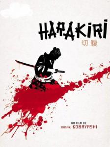 """Affiche du film """"Harakiri"""""""