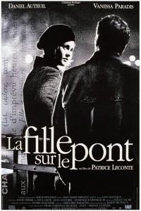 """Affiche du film """"La fille sur le pont"""""""