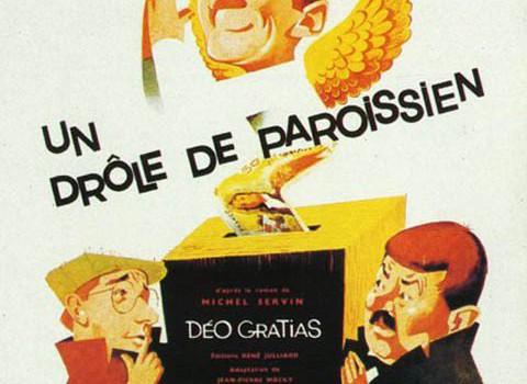 """Affiche du film """"Un Drôle de paroissien"""""""