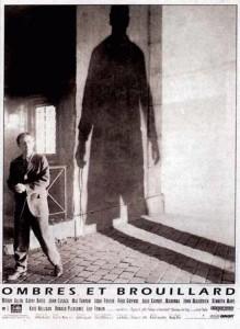 "Affiche du film ""Ombres et brouillard"""