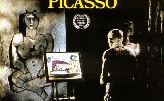 """Affiche du film """"Le mystère Picasso"""""""
