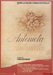 """Affiche du film """"Antonieta"""""""
