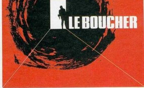 """Affiche du film """"Le boucher"""""""