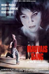 """Affiche du film """"Mauvais Sang"""""""