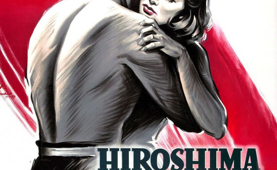 """Affiche du film """"Hiroshima mon amour"""""""