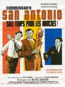 """Affiche du film """"Sale Temps Pour Les Mouches"""""""