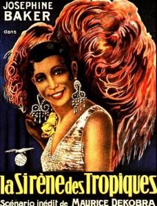 """Affiche du film """"La sirène des tropiques"""""""