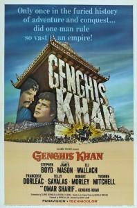 "Affiche du film ""Genghis Khan"""