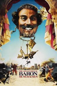 "Affiche du film ""The Adventures of Baron Munchausen"""