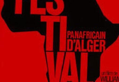 """Affiche du film """"Festival panafricain d'Alger"""""""