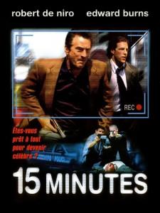"""Affiche du film """"15 Minutes"""""""