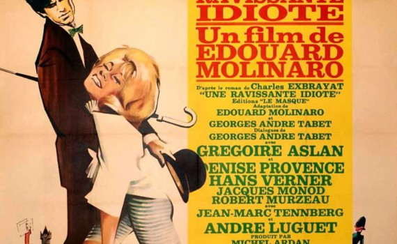 "Affiche du film ""Une ravissante idiote"""
